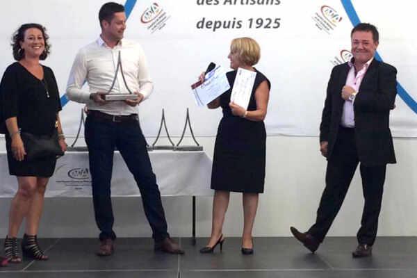 Sÿnia remporte le trophée de la Stratégie globale de moins de 5 ans