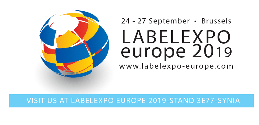 Participation Synia LabelExpo Europe 2019