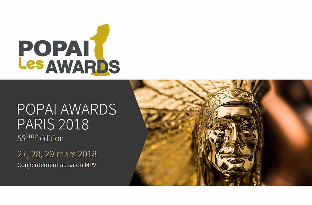 POPAI AWARDS 2018 – Sÿnia a été nominé dans la catégorie Techniques et innovations