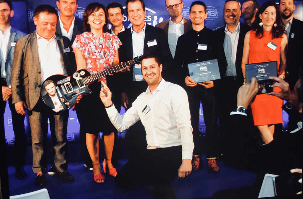 Synia nominé dans la Catégorie entreprise créative au trophée PME RMC