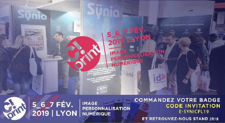 Sÿnia participe à C!Print Lyon du 5 au 7 février 2019