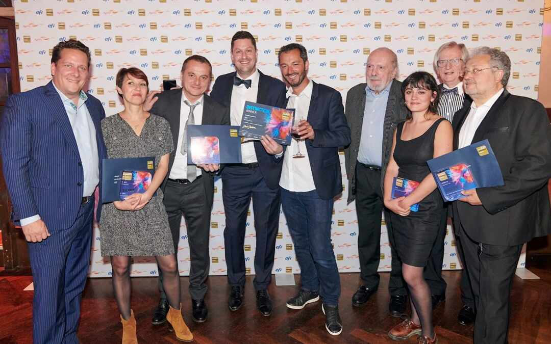 FESPA AWARDS 2019 – Sÿnia remporte de nouveau une distinction ​Winner