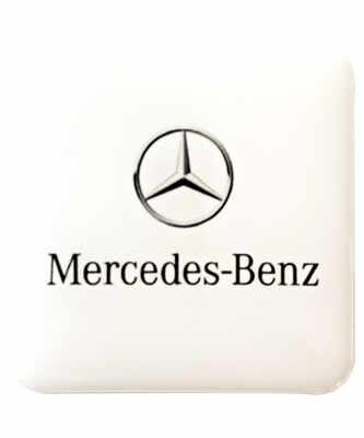 etiquette adhesive 3D doming automobile mercedes benz
