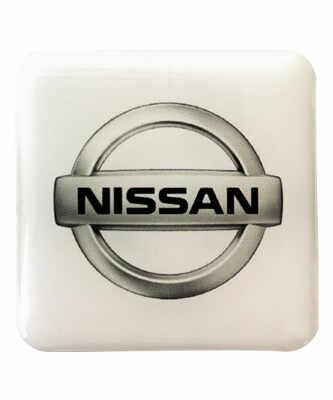 etiquette adhesive 3D doming automobile nissan