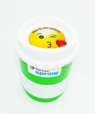 doming, 3D label, adhesive label