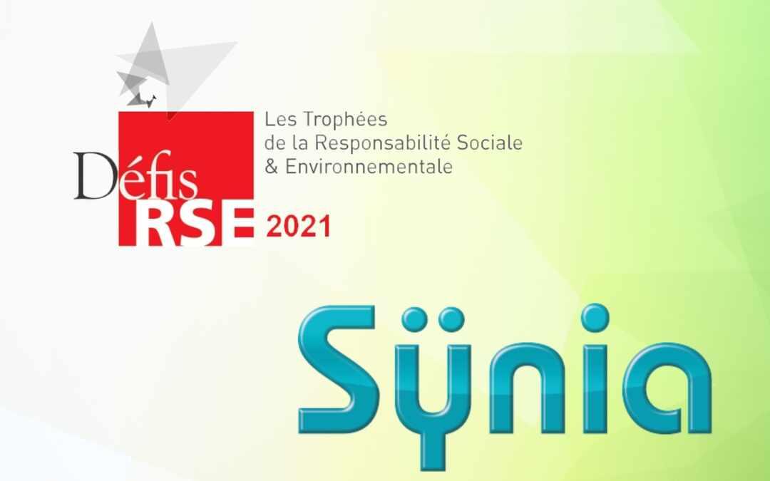 Sÿnia nominée aux Trophées Défis RSE 2021